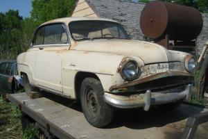 1958 Simca Aronde Grand Large 2 DR Hardtop Chrysler Import Sunbeam