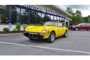 1975 Triumph Spitfire 1500 Yellow Photo