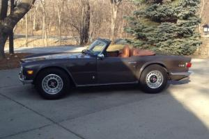TR6 in it's original state, 66,000 actual miles