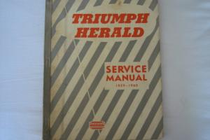 CAR Sevice Manual Triumph Herald Photo