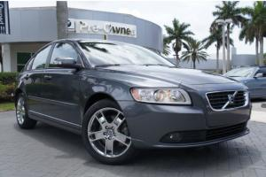2010 VOLVO S40 2.4i front wheel drive 1 owner minor carfax report florida car