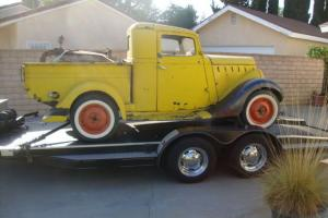 1936 Willys Pickup Barn Find Hot Rat Rod Gasser Truck 36 Rare Vintage