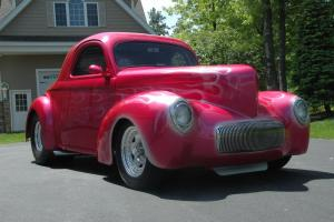 1941 Willys Pro Street Rod Classic Vintage Drag Show