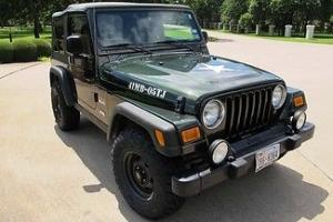 2005 Jeep TJ Willys Special Edition, very low miles,new Irok Tires, a/c,nice!