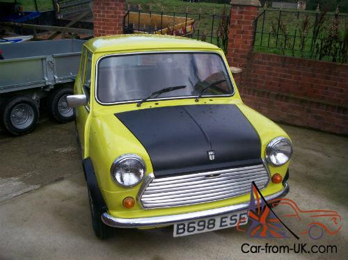 mr bean car name