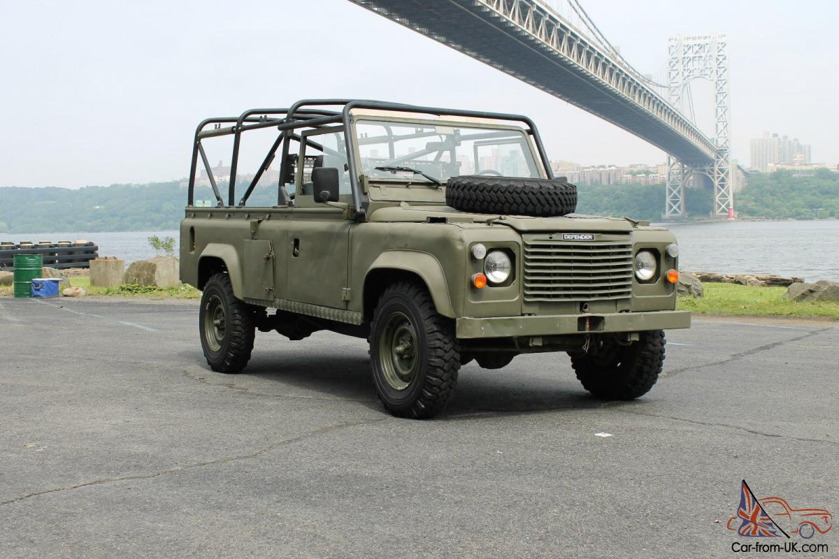 Land Rover X Mod Defender 110 Military Vehicle