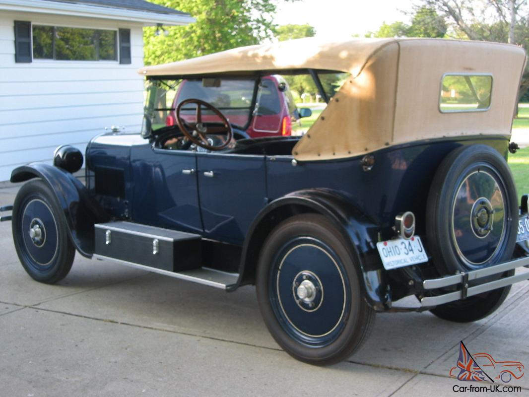 1924 dodge brothers 4 door touring for sale