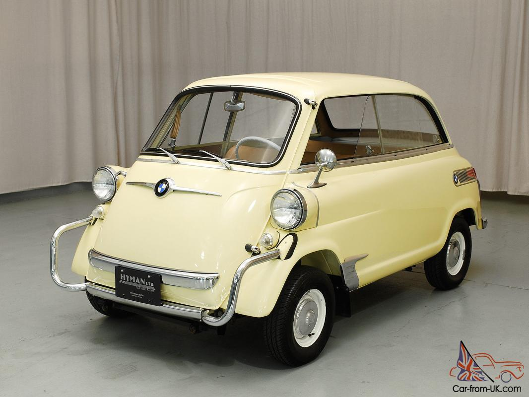 Charming BMW 600 Isetta, nicely restored microcar, from Hyman Ltd ...