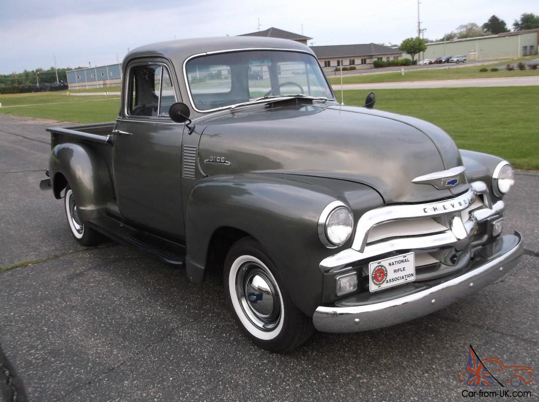 1954 chevy 5 window short box extra clean rust free truck for 1954 chevy truck 5 window