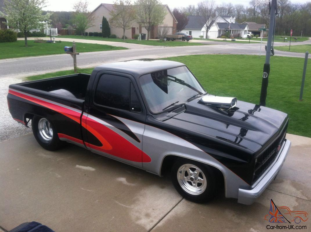 1982 Chevy Shortbed Truck Prostreet 1961 C10 Short Bed