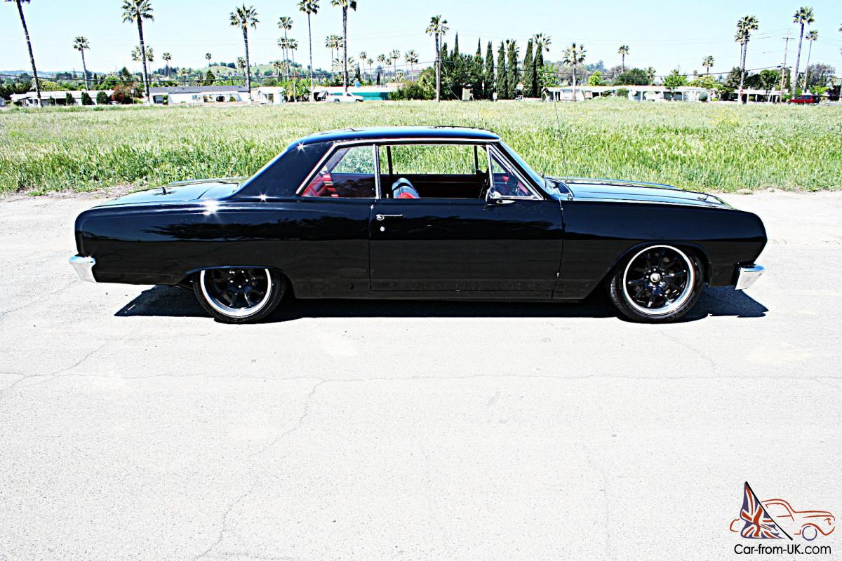 1965 Chevrolet Chevelle Pro Touring Ls1 T56 Ac Air Ride Clean Painless Wiring Harness 57 Bel
