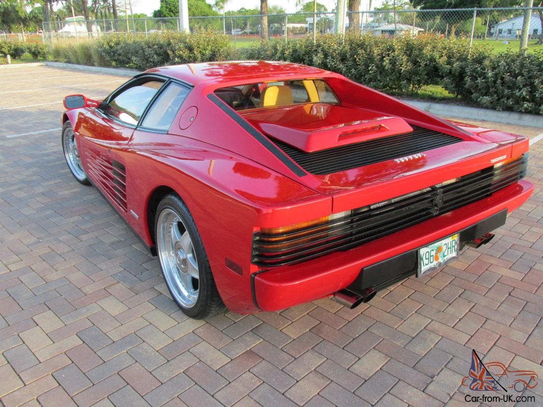 1987 ferrari testarossa plus 15k in extra 39 s luggage. Black Bedroom Furniture Sets. Home Design Ideas