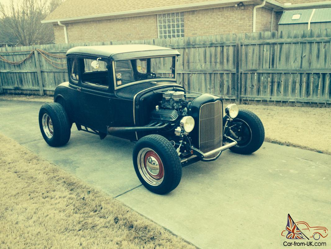 1930 ford model a coupe rat rod hot rod. Black Bedroom Furniture Sets. Home Design Ideas