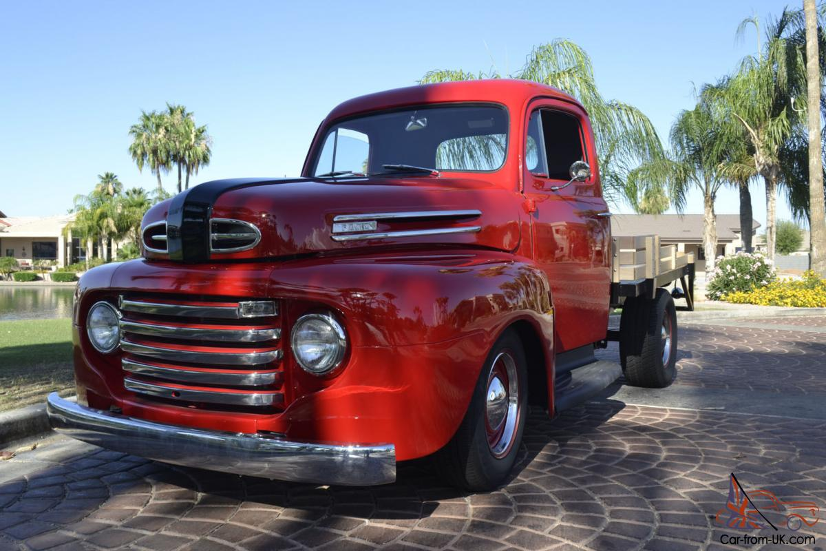 1948 Ford F1 Stakebed Pickup Truck Streetrod