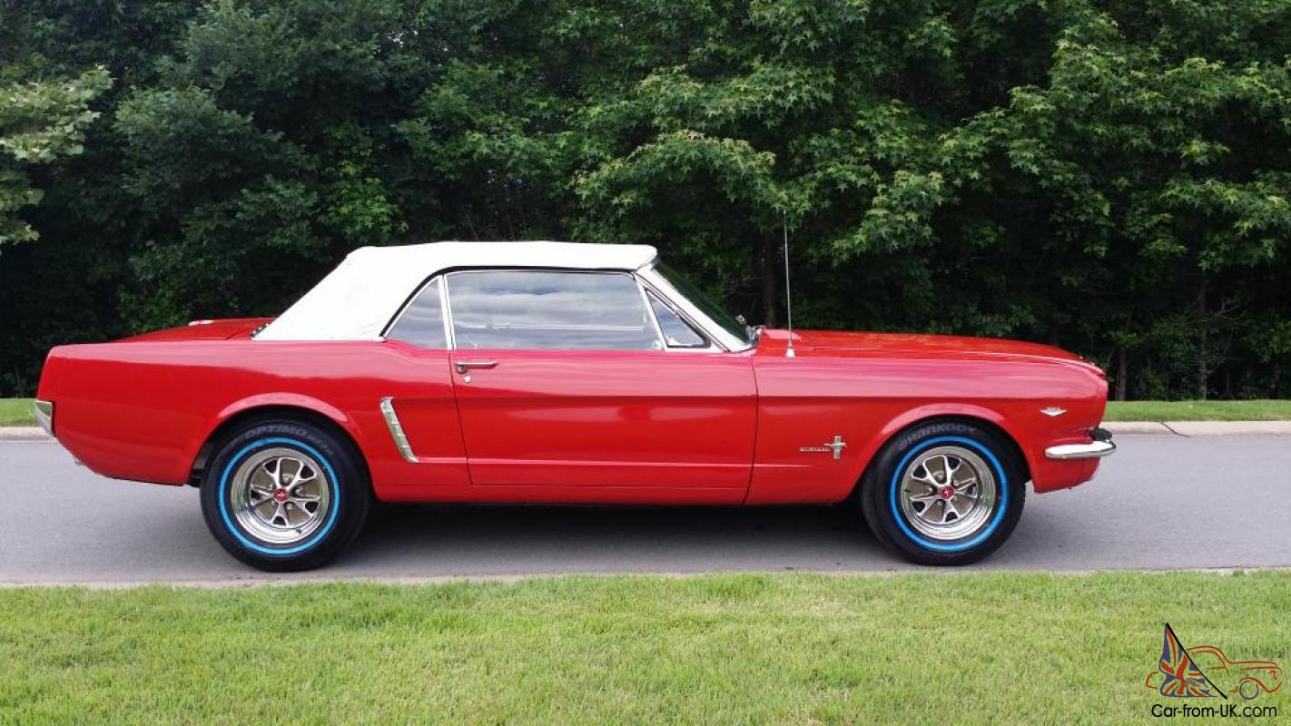 1965 ford mustang convertible 50th anniversary original show car. Black Bedroom Furniture Sets. Home Design Ideas