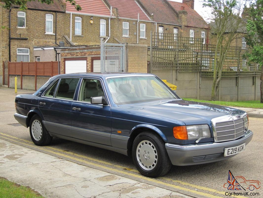What To Do With Expired Car Seats >> OUTSTANDING LOW MILES 1 DRIVER MERCEDES 560SEL W126 Classic S Class