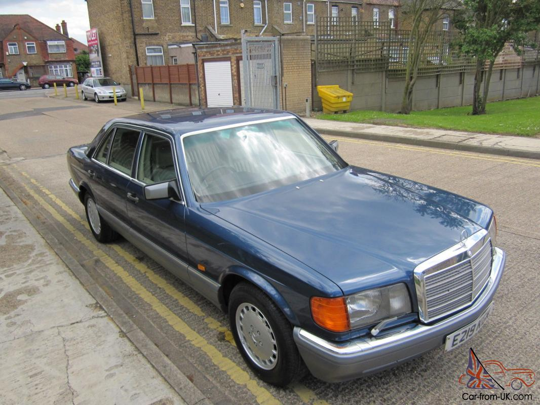 What To Do With Expired Car Seats >> OUTSTANDING LOW MILES 1 DRIVER MERCEDES 560SEL W126 ...