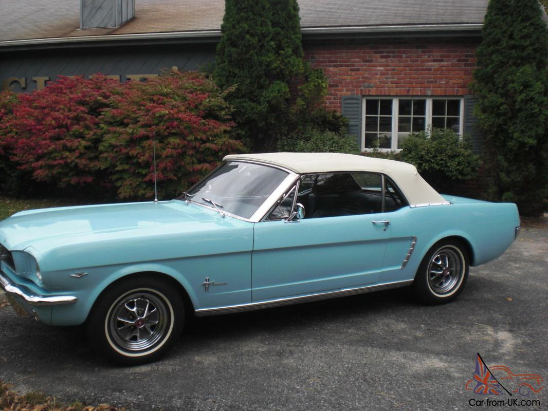 1964 1 2 ford mustang convertible 78 000 miles southern car mint. Black Bedroom Furniture Sets. Home Design Ideas
