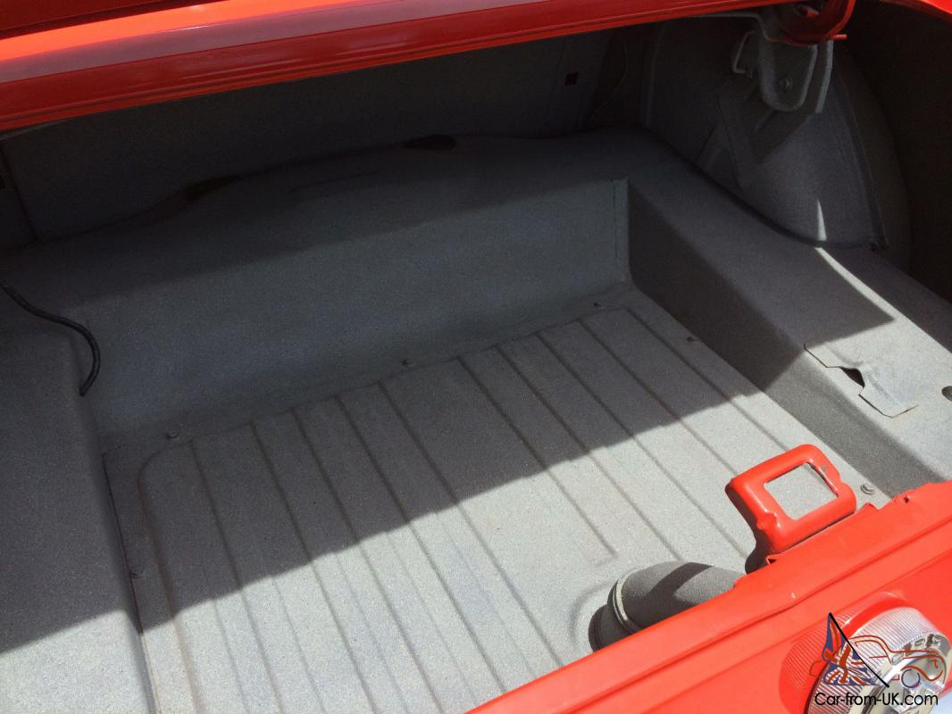 1966 mustang coupe excellent condition pony interior orange red. Black Bedroom Furniture Sets. Home Design Ideas