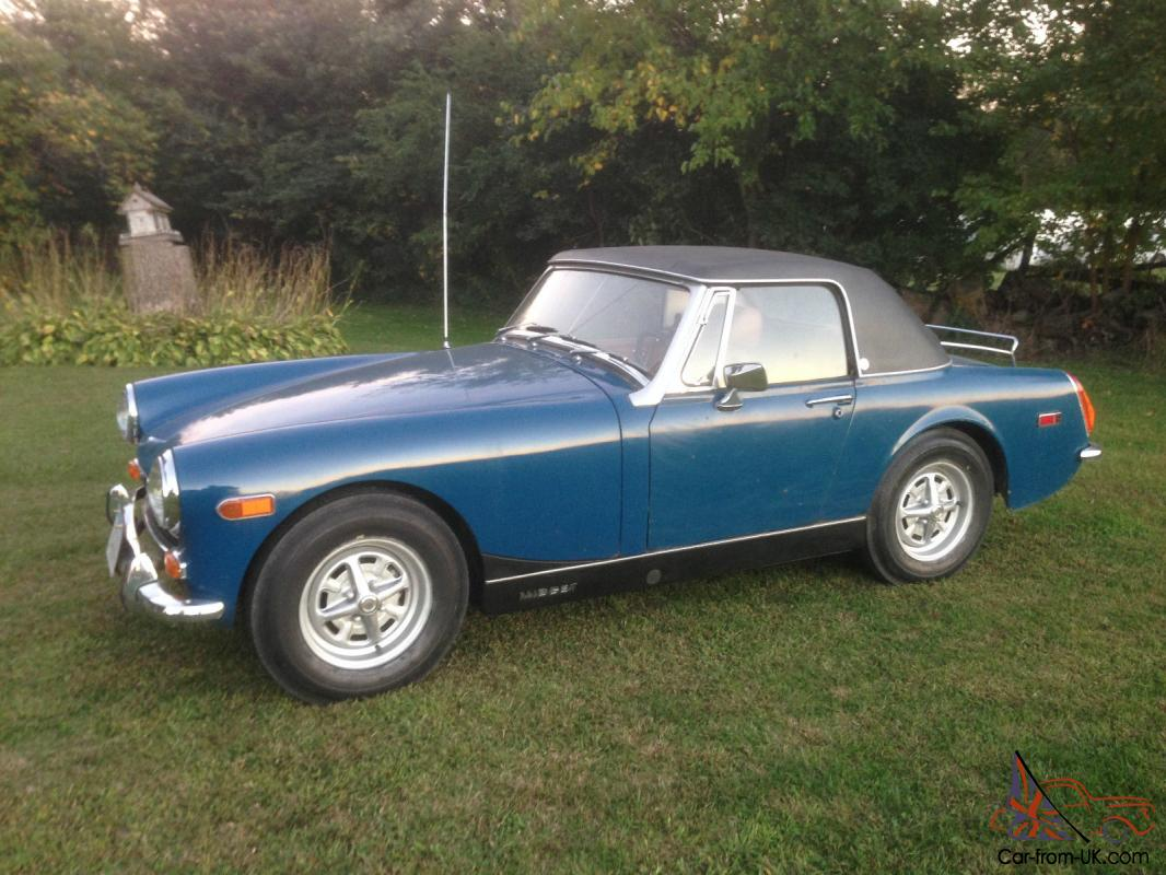 Dick mg midget pro street car yeah want that