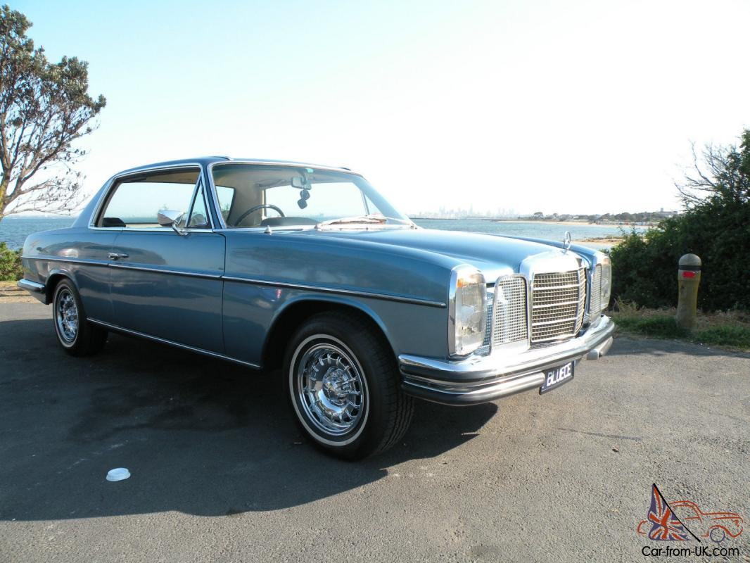 mercedes benz w114 280 ce 1973 pillarless coupe 4 speed auto. Black Bedroom Furniture Sets. Home Design Ideas