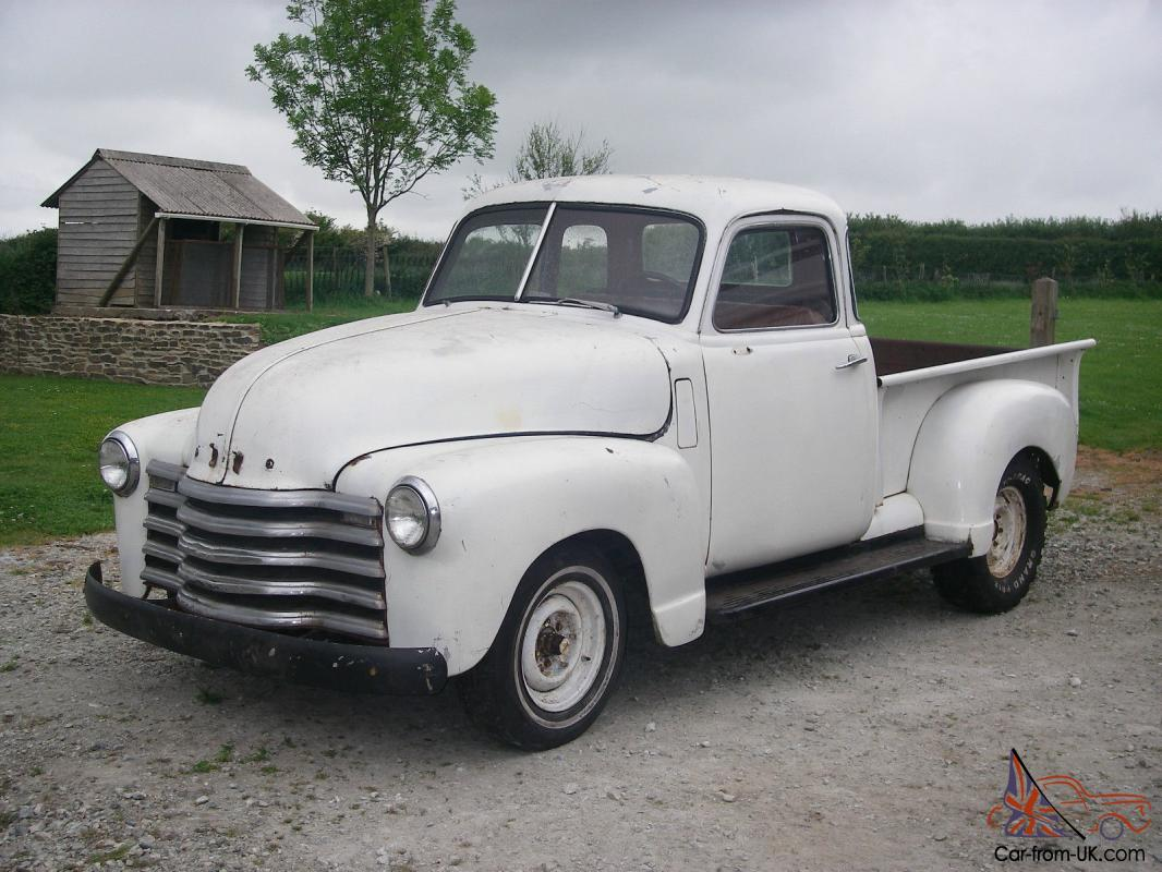 1947 CHEVROLET DELUXE CAB HALFTON SHORTBED Relisted