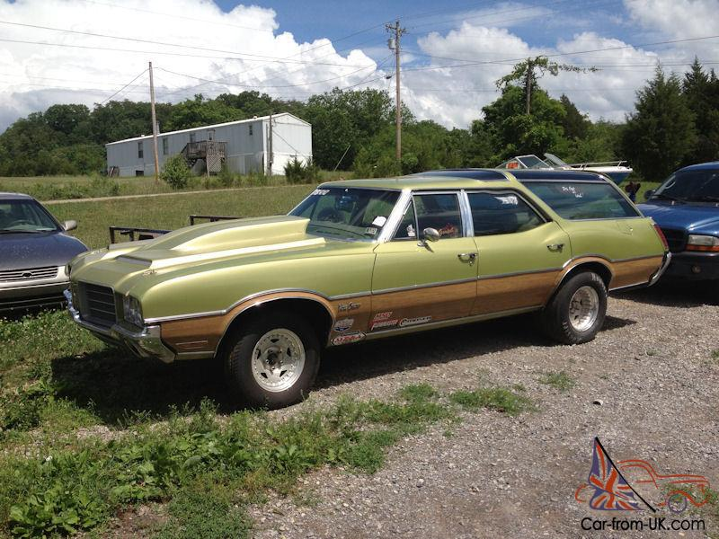 1971 Oldsmobile Vista Cruiser Station Wagon Race Car Muscle Car Pro