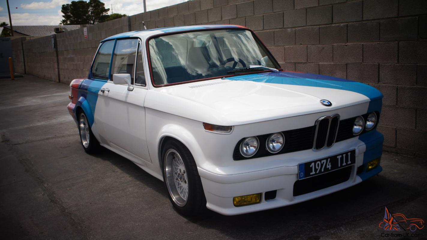 1974 Bmw 2002 Tii Matching Numbers Complete Custom