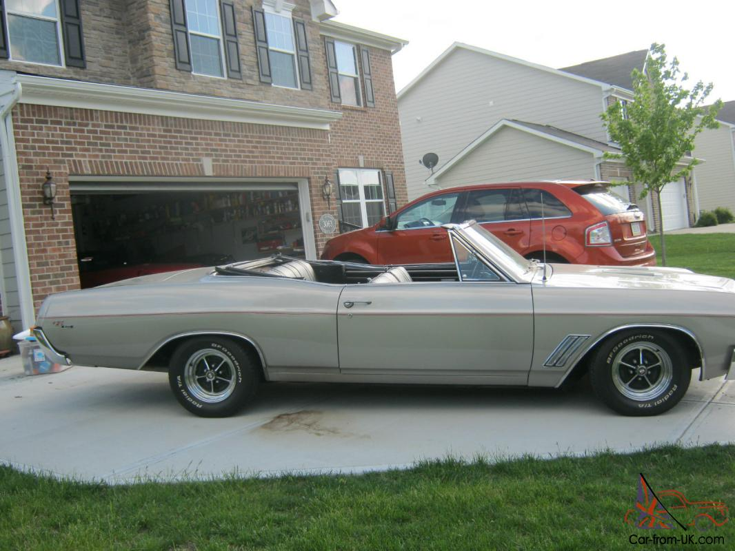 1967 buick gs 400 convertible muscle car. Black Bedroom Furniture Sets. Home Design Ideas