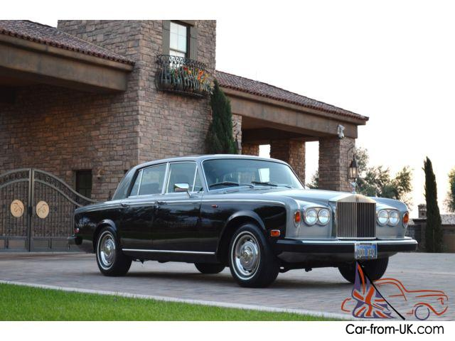 1979 rolls royce silver shadow ii stunning 2 owner beverly for Rolls royce of beverly hills