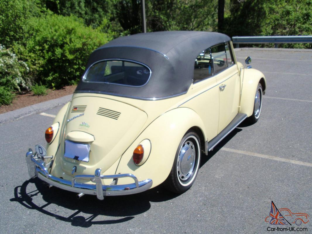 1967 vw convertible owned from new like new last great bug year. Black Bedroom Furniture Sets. Home Design Ideas