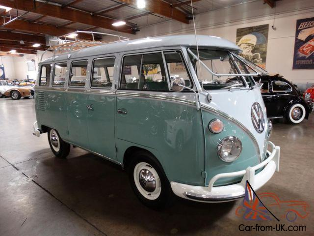 1963 volkswagen 15 window deluxe bus restored for 1963 vw bus 23 window