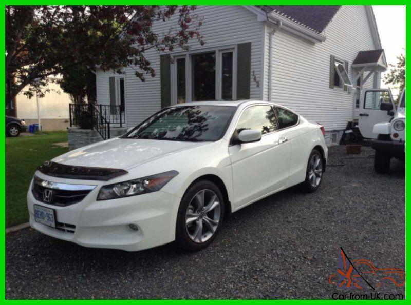 honda accord 3 5 ex l fwd coupe with warranty. Black Bedroom Furniture Sets. Home Design Ideas