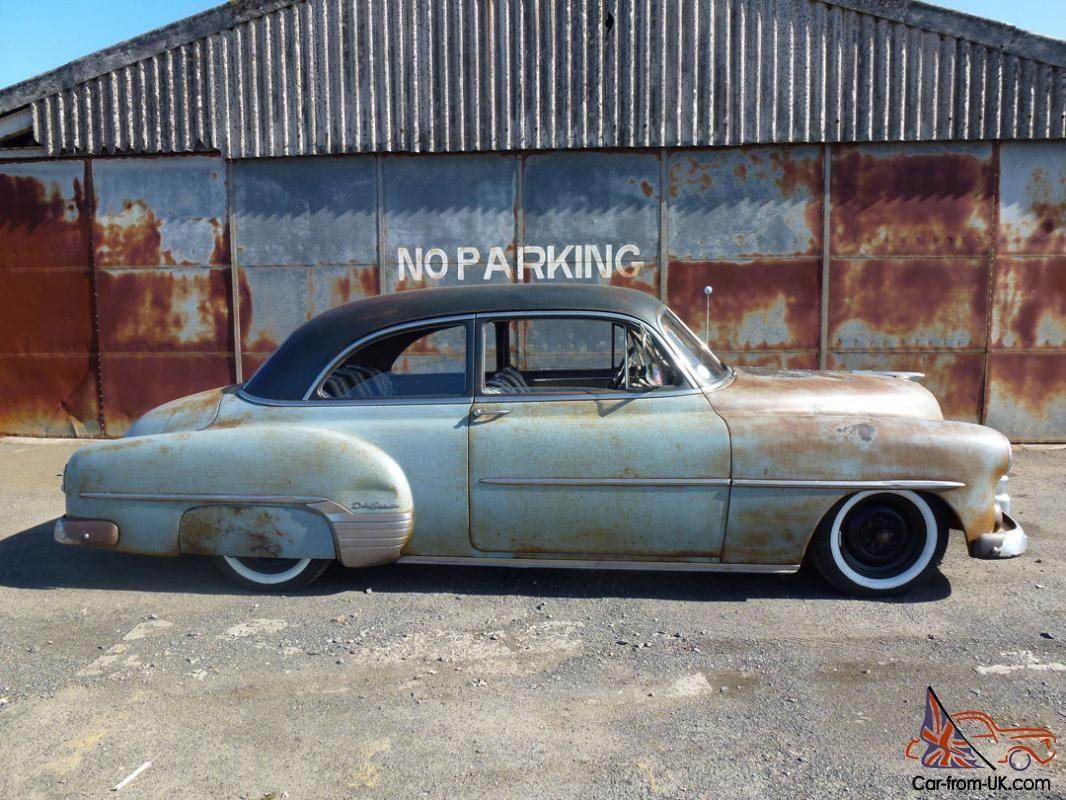 1952 chevrolet styleline deluxe 2 door hot rod rat rod hemsby for 1952 chevy deluxe 2 door for sale