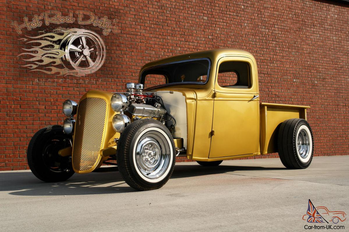 1936 CHEVY TRADITIONAL HOT STREET ROD RAT PICKUP SHOW TRUCK 1932 ...