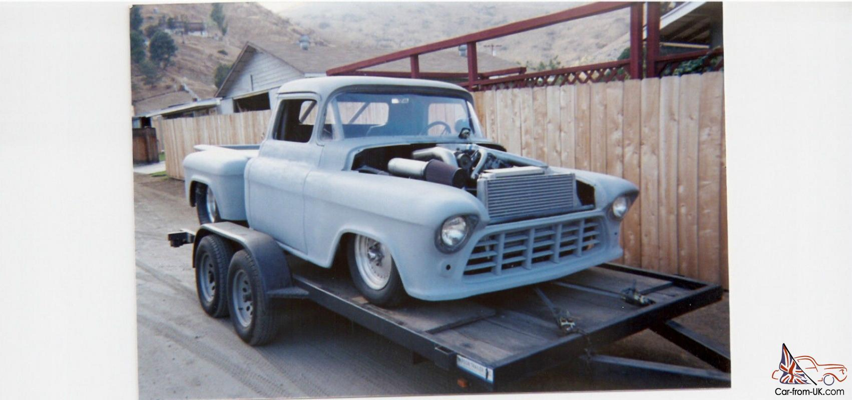 1955 chevrolet pro street truck youtube - 1955 Chevy Truck Project Pro Street Chopped Top 454 Turbo 400 Trans 4 Link Rear