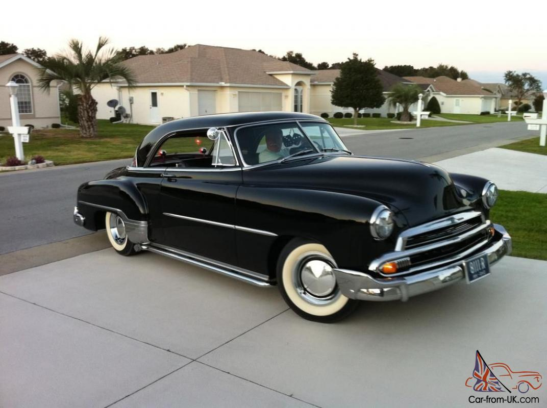 1951 chevrolet bel air base hardtop 2 door 3 8l