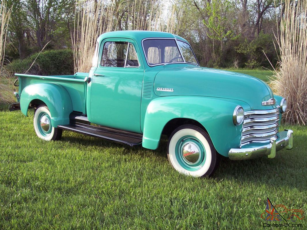 1953 chevrolet 5 window deluxe ocean green for 1953 5 window