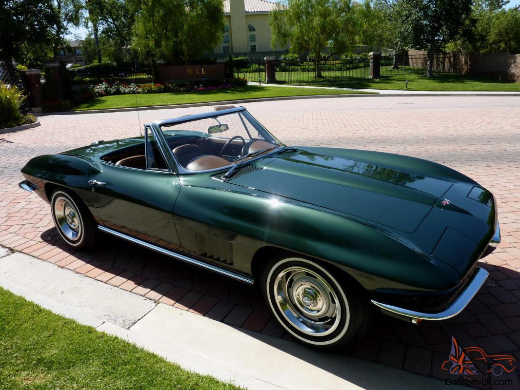 california pristine frame off restored 1967 corvette convertible flawless. Black Bedroom Furniture Sets. Home Design Ideas
