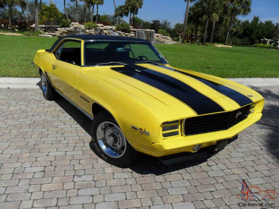 1969 Z28 Camaro For Sale Numbers Matching Autos Post