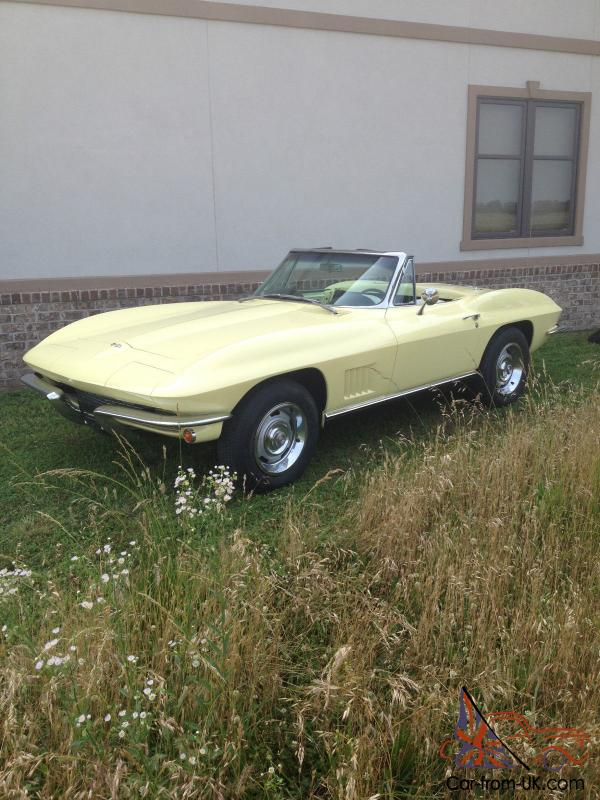1967 corvette roadster matching numbers project. Black Bedroom Furniture Sets. Home Design Ideas