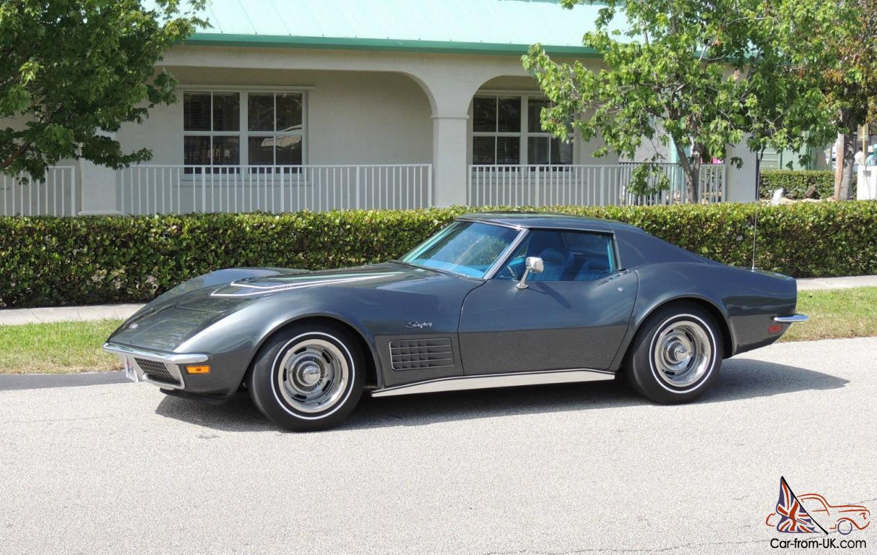1970 Corvette Lt1 Coupe Documented Real Car 1 Of 1