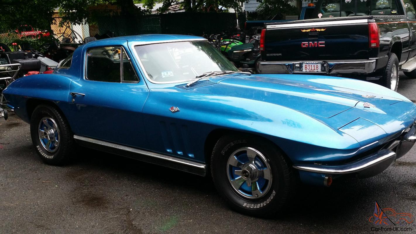 1966 chevrolet corvette stingray coupe automatic stored 20 years no reserve. Black Bedroom Furniture Sets. Home Design Ideas