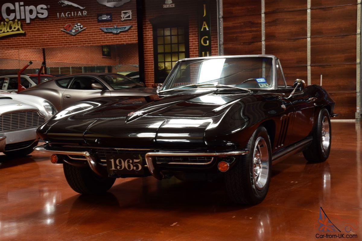 1965 chevy corvette stingray classic with speed. Black Bedroom Furniture Sets. Home Design Ideas