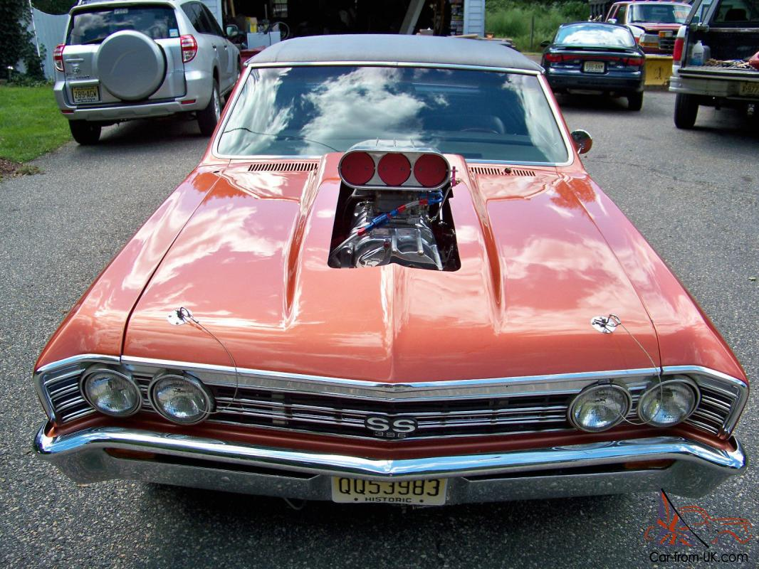 1967 Chevelle SS 138 code Supercharged Big Block