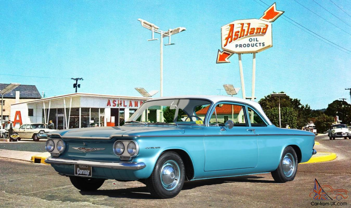 1960 CHEVROLET CORVAIR 700 COUPE Photo