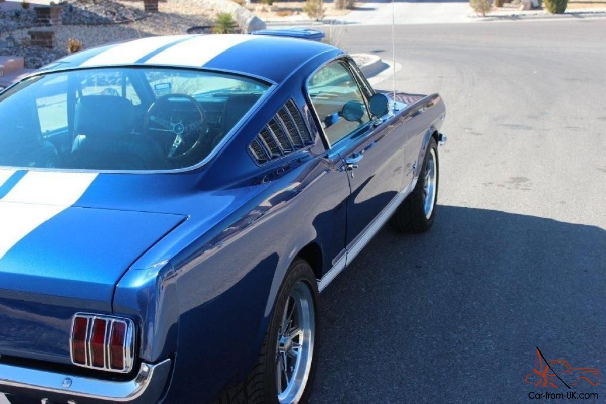 1965 Ford Mustang Fastback Shelby pro touring trade muscle car 1933 ...