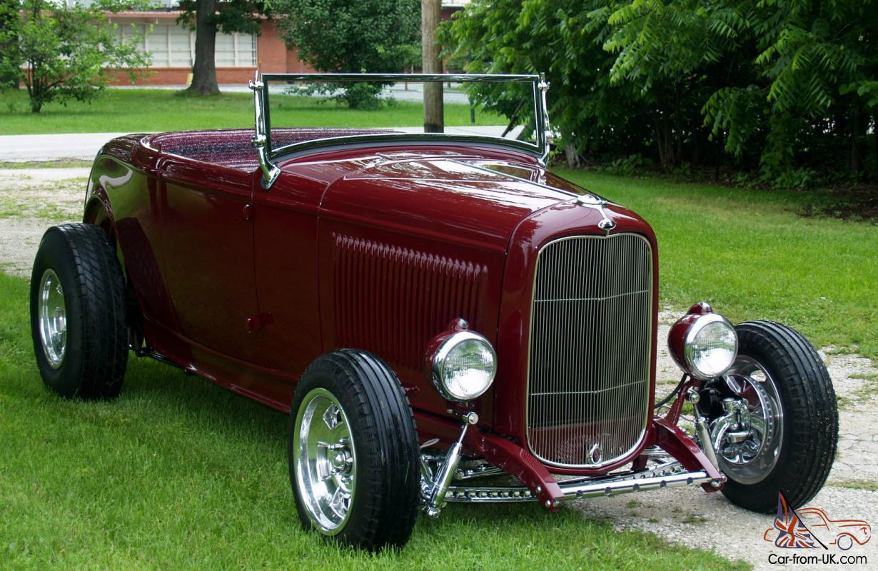 1932 Ford Roadster,HOT ROD,STREET ROD,Chevy 350,Brookville,SCTA,32