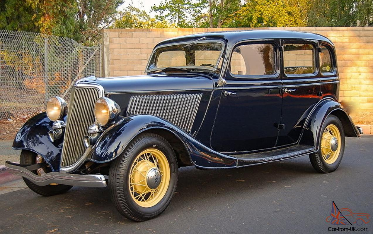 1934 ford deluxe 4 door sedan body