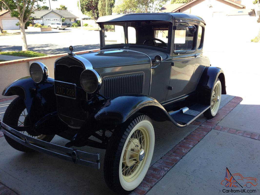 1931 ford model a coupe with rumble seat. Black Bedroom Furniture Sets. Home Design Ideas